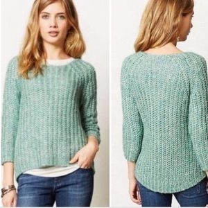 Knitted and Knotted sunstitched sweater